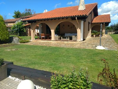 Photo for Beautiful house with garden and private pool in Cantabria