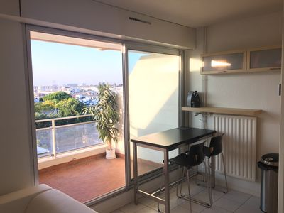 Photo for Balcony Apt La Rochelle Port des Minimes - Sea View - 200 M Beach - Secure PKG