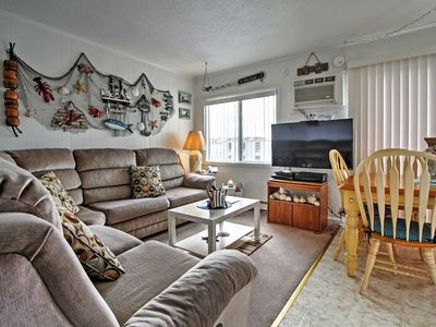 Ocean City Beach Condo: 5 Blocks From the Beach!