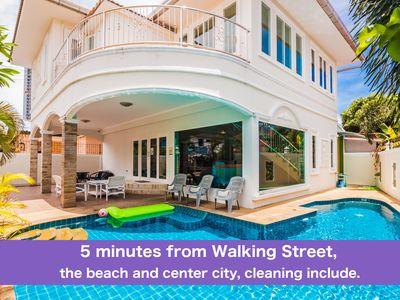 Photo for 4 Bedroom Villa with Private Pool 5 Minutes Walking Street and Beaches