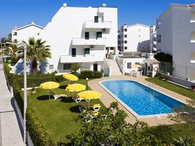 Photo for APARTMENT TERRACE FACEMER PRIVATE RESIDENCE WITH SWIMMING POOL (400 M BEACH)