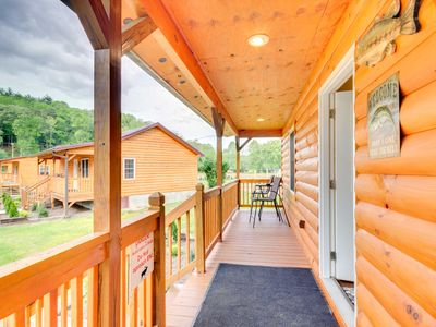 Photo for NEW! Cozy Cabin on Tuckaseegee River - Near Tsali!