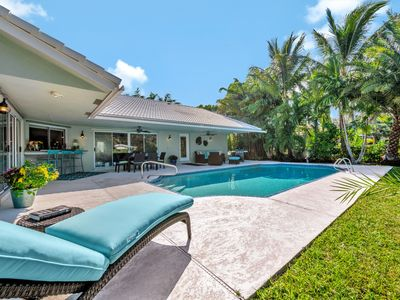 Waterfront Pool Home Minutes to Downtown Delray!