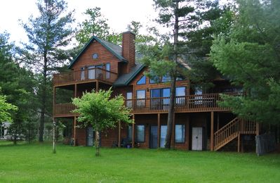 Photo for Gorgeous Sunset View & Sandy Beach on Shell Lake with Game Room!