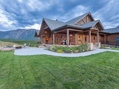 Photo for Luxury Home with Amazing Mountain Views of Glacier Park, 1 mile from entrance