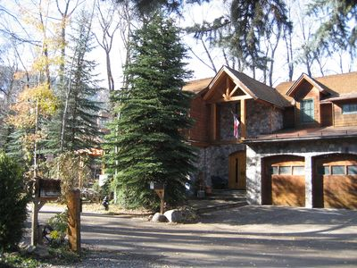 Photo for Spectacular Home on the Roaring Fork River with views of Aspen Mtn.