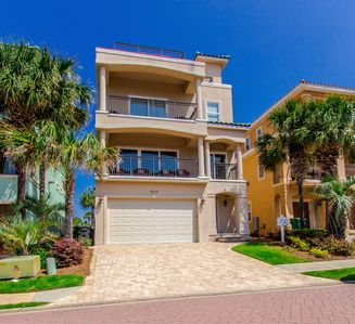 """Photo for Ocean Views - Gated Community Luxury home in """"Destiny by the Sea"""""""