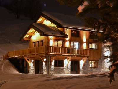 Photo for Chalet THOYA, Sybelles, 15 people, 7 bedrooms, jacuzzi, spa sauna