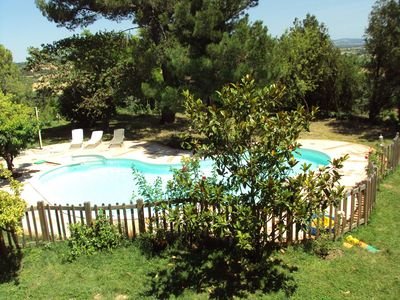 Photo for Authentic mansion Lauragaise to Souilhe secure pool