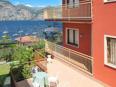 Photo for Apartment Casa Maria (BRZ180) in Brenzone - 4 persons, 1 bedrooms