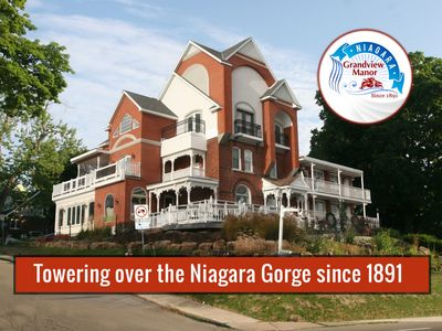 Towering over the Niagara Gorge since 1891, Niagara Grandview Manor is simply the best  value in Niagara Falls.