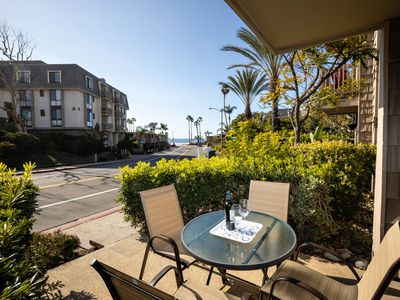 Photo for New! Beautiful Beach Cottage w/Ocean View Patio, Steps from the Sand at NCV!