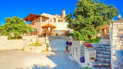 Photo for Brand New Villa, Private Pool, Panoramic Countryside Views in the desirable location of Achlades!
