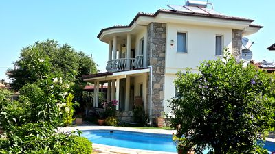 Photo for Dag Manzarais - 3 bedroom private pool and gardens