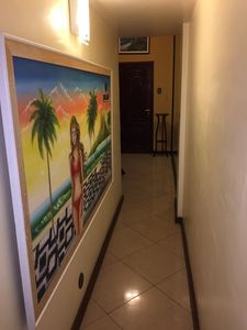 Hall Way leading to Bath room and office