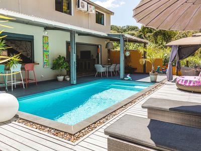 Photo for Bohemian villa with pool not overlooked