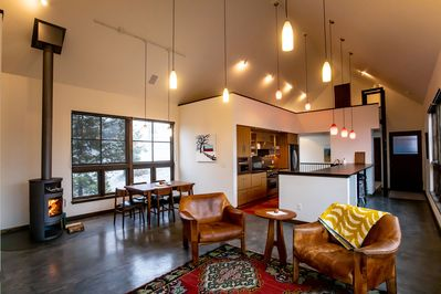 Open floor plan to maximize time together
