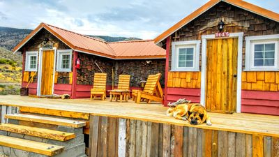 Photo for Soderberg cozy rustic cabin 5 min from Cody