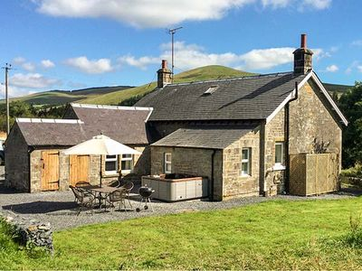 Photo for NETHERRAW, pet friendly, with hot tub in Newcastleton, Ref 13530
