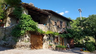Photo for Traditional Tuscan house with Exclusive Use of House, Garden, Pool and Grounds