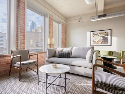 Photo for Sonder | Butler Brothers | Airy 1BR + Gym