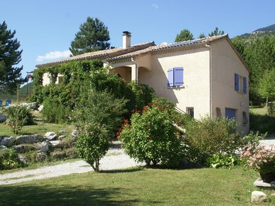 Photo for Great detached house near Die (8 km) with magnificent view and beautiful garden