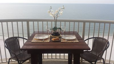 Directly on Beach - Great Getaway! Stunning View From Private Balcony!