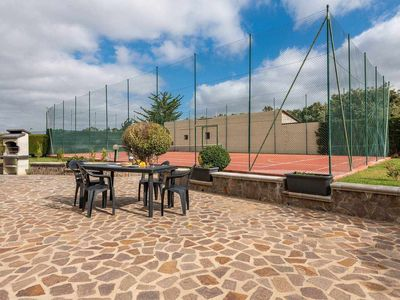 Photo for TENNIS HOUSE 2: chalet with a tennis court!