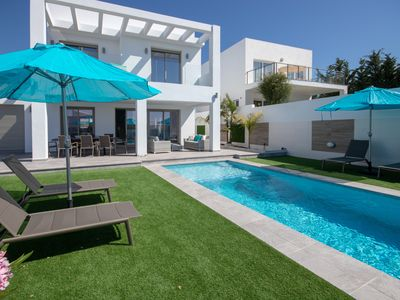 Photo for 4 Bedroom Contemporary Villa with Private Pool and Terraces