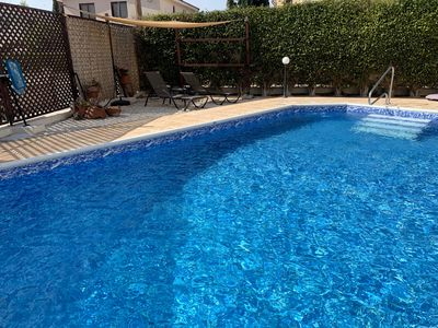 Photo for Villa Lesbos is a lovely spacious 2 bedroom villa with a private pool near Beach