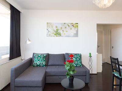 Photo for Willems  apartment in European Quarter with WiFi, balcony & lift.