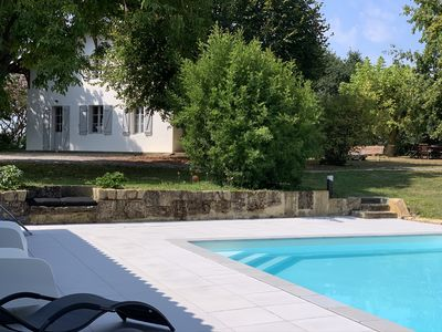Photo for Country house with swimming pool south Aquitaine