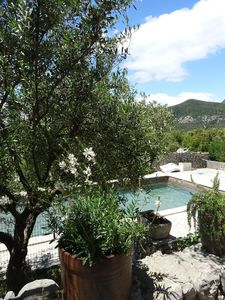 Photo for Mas 15th private pool in secluded site with breathtaking views and absolute calm
