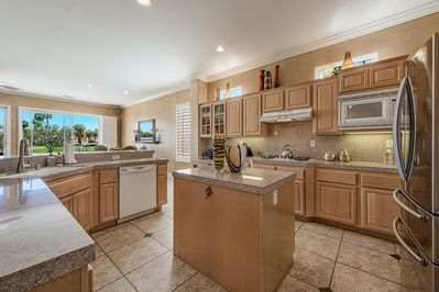 Beautiful and spacious Kitchen/Dining area that opens to the Lanai.