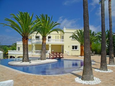 Photo for Beautiful private villa for 10 guests with hot tub, private pool, WIFI, A/C, TV and parking