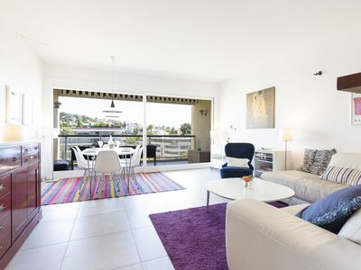 Photo for Beautiful bright apartment in the center of Cannes, near Palais and beaches