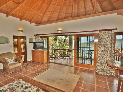 Photo for Tropical Hideaway Palm Cottage - Stunning Views - 5*  Boutique Accommodation