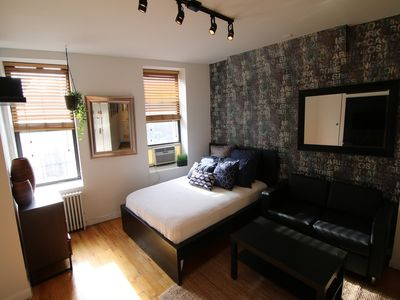 Photo for Studio apartment 1.4 km from the center of New York with Internet, Air conditioning (983317)
