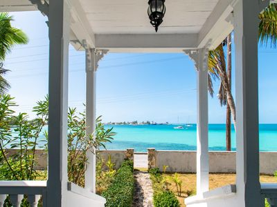 Photo for Restored Historic Waterfront Captains Home, Sunset Views, Walk to Beach