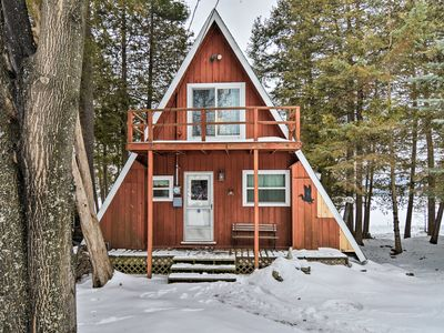 Photo for NEW! Deer Lake Cabin - 2 Mi to Boyne Mtn. Resort!