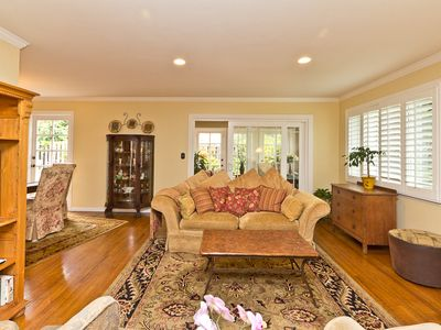Photo for Beautiful SB Home 3 blocks to Beach.  Walk to parks, beach, harbor, restaurants