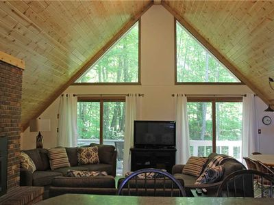 Photo for Trailside Vacation Home with One of the Best Views in the U.P. of Ski Slopes