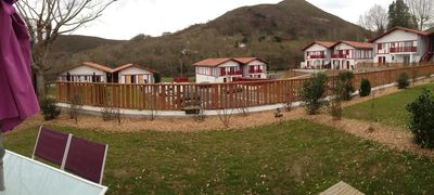Photo for April 9 pers Basque Apt, WIFI, private garden, near St Jean ocean view mountain
