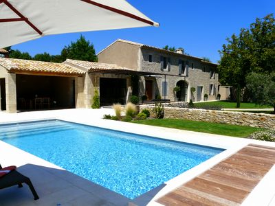Photo for Luxury property in the Alpilles with heated pool - 8 people
