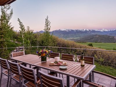 Photo for Luxury Mountaintop 5BR | Aspen Starwood | Private Chef Dinner Included