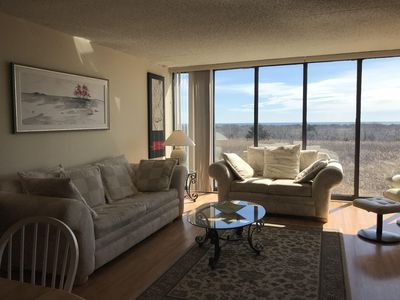 Photo for Bright 3 bedroom condo overlooking the dunes with ocean views