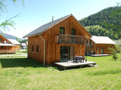 Photo for Pretty wooden luxury chalet in a small friendly holiday resort near Kreischberg