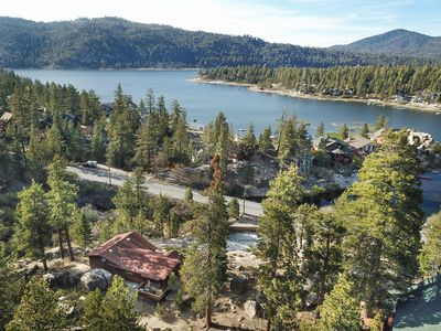 Photo for Boulder Bay Hillside: Walk to the Lake! Backs Up to the National Forest! Luxury! Hot Tub! Foosball!