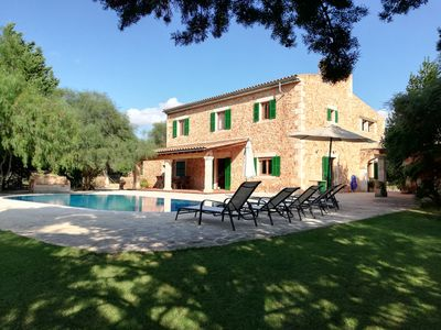 Photo for FINCA CAN OLLERS SWIMMING POOL A FEW KM FROM ES TRENC BEACH