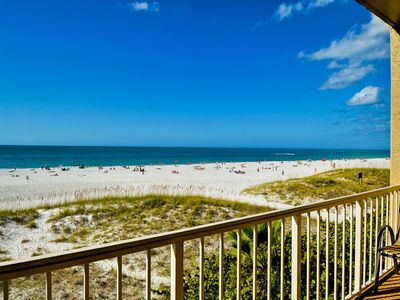 Beautiful view of north Clearwater Beach.